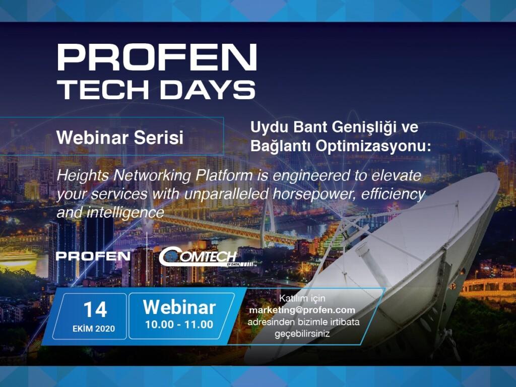 Profen Tech Days – Uydu Bant Genişliği ve Bağlantı Optimizasyonu