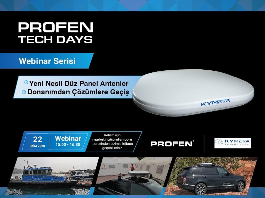 Profen Tech Days – Yeni Nesil Düz Panel Antenler – Donanımdan Çözümlere Geçiş